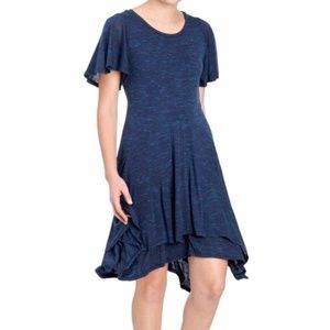 Anthropologie Dolan Layered Casual Swing Dress M